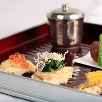 【前菜/夕食一例】鹿児島の旨みを魅せる!彩り鮮やかな前妻