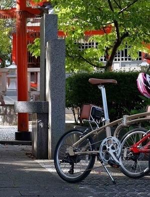朝から京都駅で荷物をお預かり&そのままレンタサイクルで観光へGO!