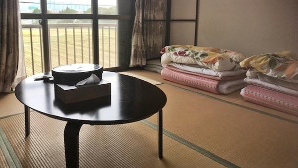 【離れ】2階和室8畳(洗浄機付きトイレ・洗面付)※禁煙