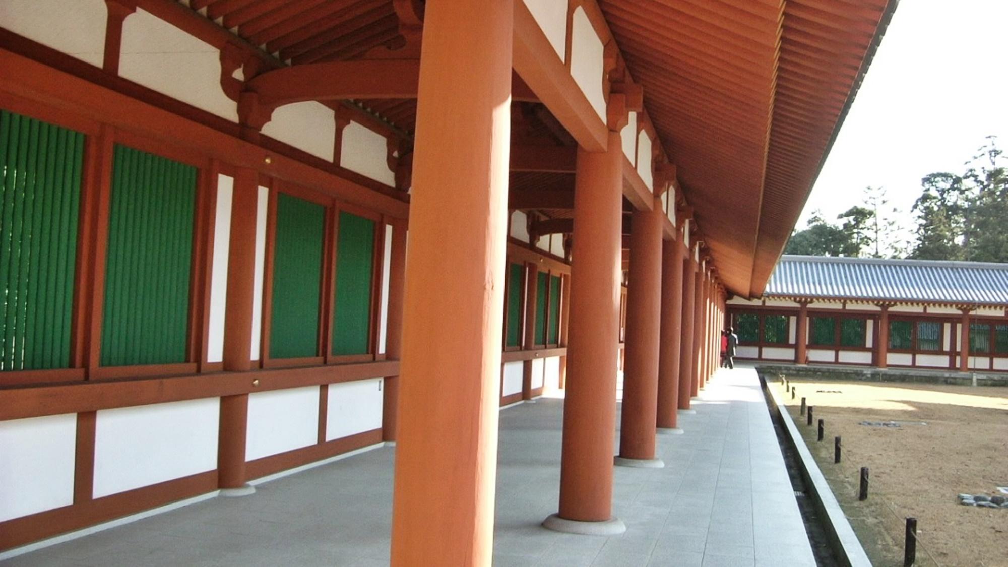*【周辺観光】世界遺産「薬師寺」(当館から徒歩15分)