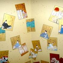 【女将手作りの屏風】昭和ノスタルジーな町屋風に仕上げました