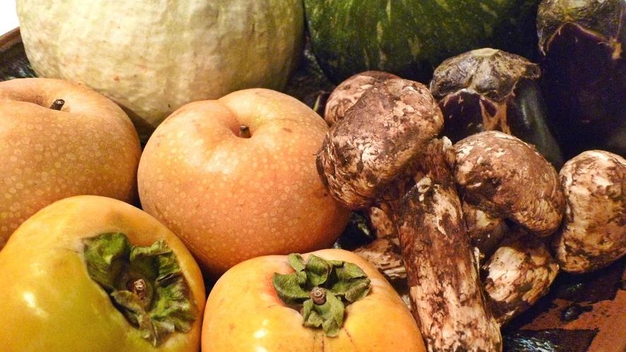 *【野菜・果物】近隣の提携農家さんから仕入れる安全で新鮮な食材たち