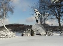 (冬)女神湖