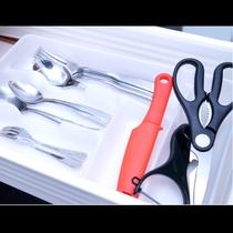 *食器類も清潔なものをしっかり完備!なので食材と調味料の持ち込みのみでOK♪