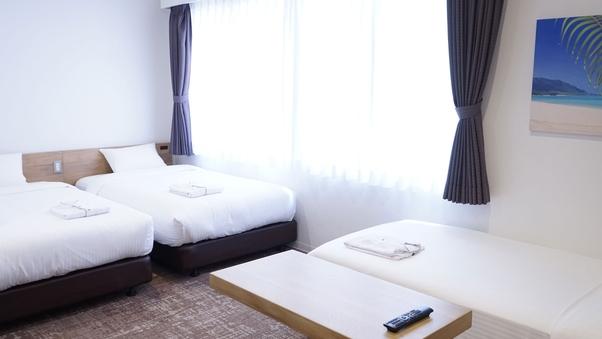 禁煙■トリプル|ベッド幅100cm〜/18平米/Wi-Fi可