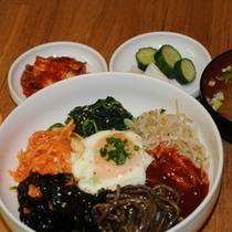 【韓国朝食】ビビンバ3