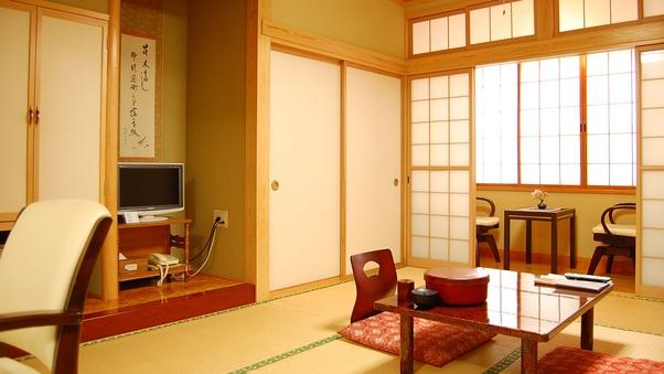 【おまかせ】和室10畳または二間続き(禁煙室)