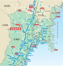 越後屋旅館・広域地図