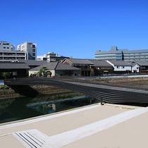 長崎・出島に130年ぶりとなる「出島表門橋」が開通(当館より徒歩約13分)