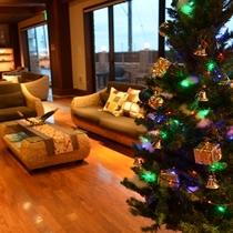 SAZANAラウンジでクリスマスを満喫