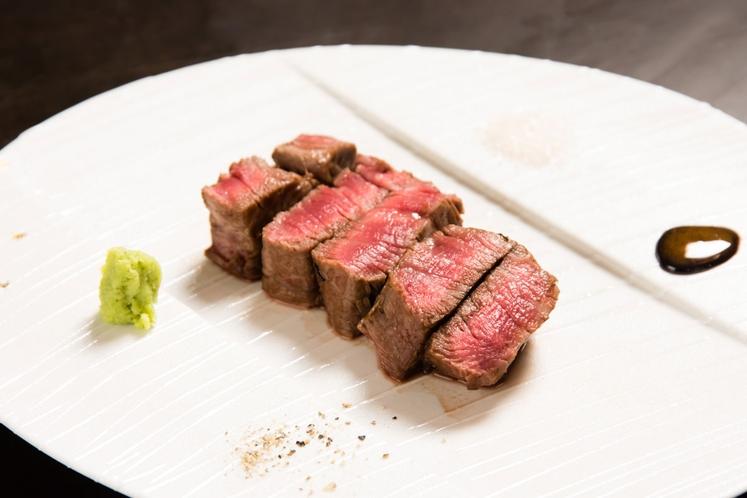 鉄板焼コース 肉料理