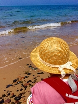 千代の泣き砂の浜2