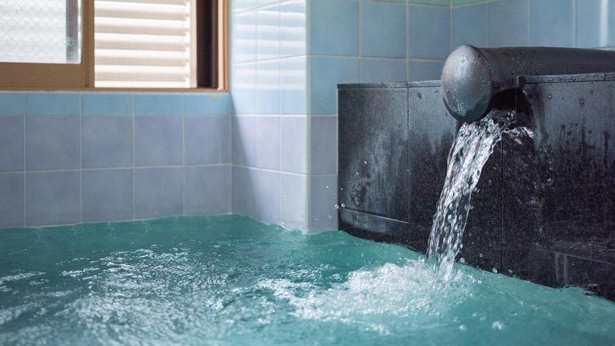 *【大浴場(女性)】豊富な湯量で、こんこんと湧き出る天然温泉。