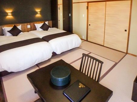 【半露天風呂付き客室】−離れ棟−「小室」◆50平米◆