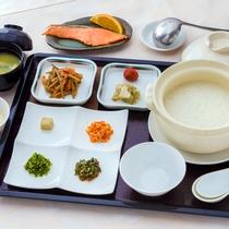 ■朝食■(中華粥)