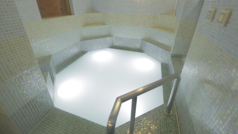 【無料貸切風呂】モザイクタイル風呂