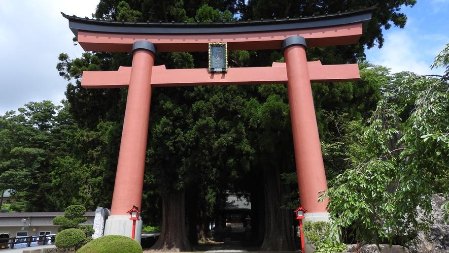 【周辺観光】河口浅間神社