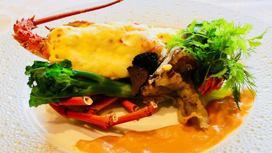 【夕食】グレードアップ:ロブスターテルミドール