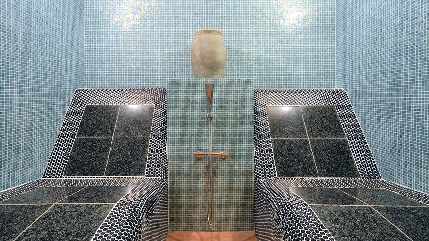 【無料貸切風呂】イス式岩盤浴