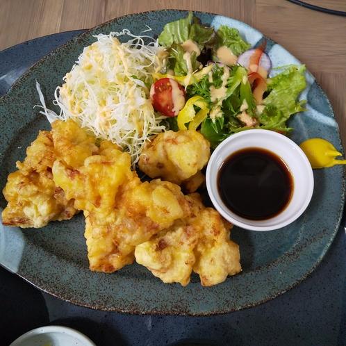☆夕食☆とり天☆