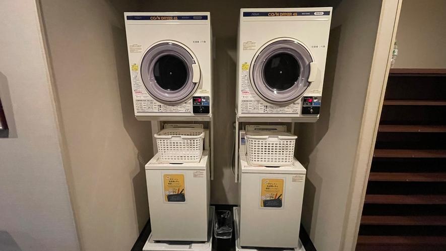 洗濯機・乾燥機(男性大浴場)