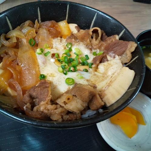 ☆夕食☆肉豆腐丼☆