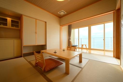 海の見える落ち着きのある和室【8畳 禁煙】