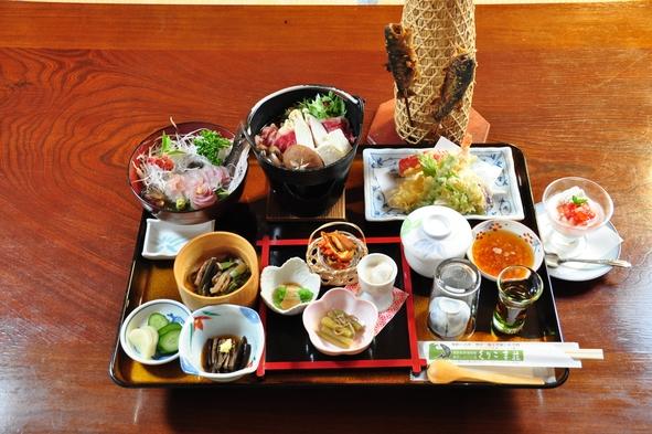 【楽天トラベルセール】【宮城巡り 飲食特典】栗原のおもてなしプランに名物岩魚丼付プラン
