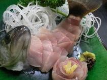 岩魚の活造り風刺身