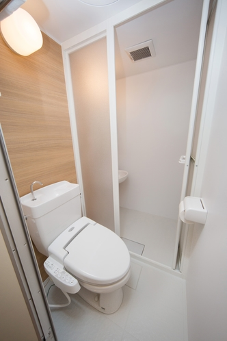 プライベートシャワー.トイレ