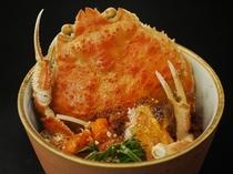 コッペめし(セコ蟹丼)