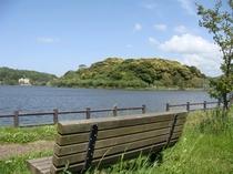 京都府で一番広い湖「離湖」