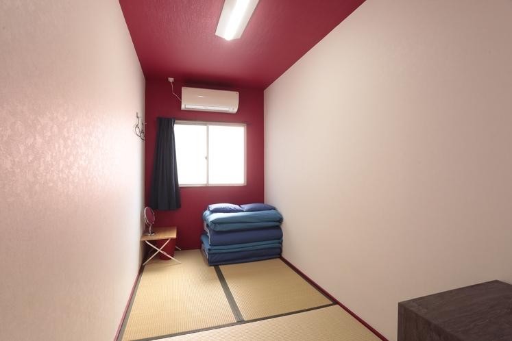 女性専用フロア 和室3畳ツインルーム