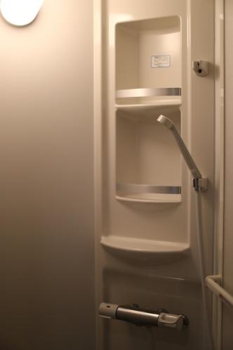 24時間利用可能、個室シャワールーム