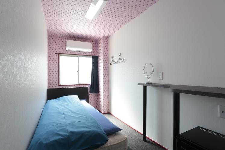 女性専用フロア 洋室シングルルーム