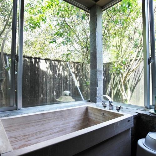いろり客室風呂