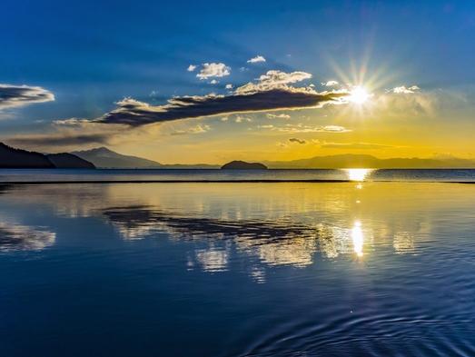 (平日)【楽ちんプラン】日本遺産のビーチが目の前/バーベキューをテラスでどうぞ/朝食配達/中コテージ