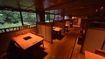 レストラン「ワッカピリカ」テーブル席