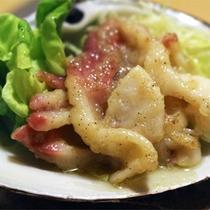 *夕食一例/「炉ばた開陽台」地元北海道の食材を使ったお料理を肴に一杯♪