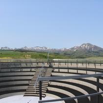 *周辺観光/高台にある開陽台は、知床連山、北方領土、330度の平野が見渡せるビュースポット!