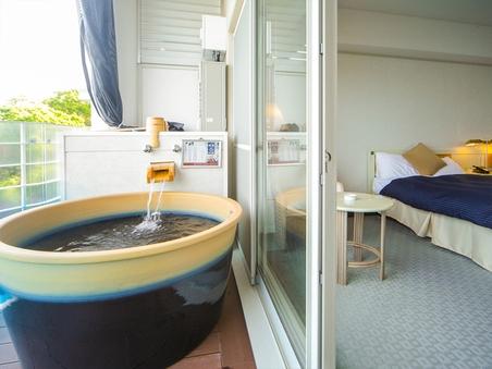 【露天風呂付き客室】◆海側30平米◆クラシックTW◆