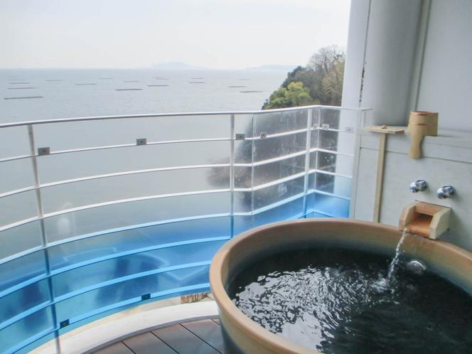 【オーシャンスイート】客室露天風呂