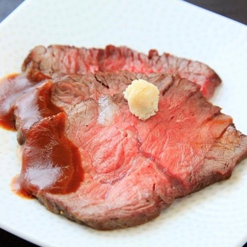 【朝食ビュッフェ】ローストビーフ