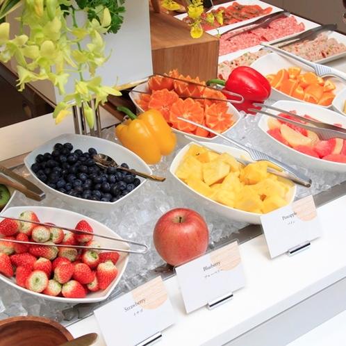 【朝食ビュッフェ】フルーツ各種