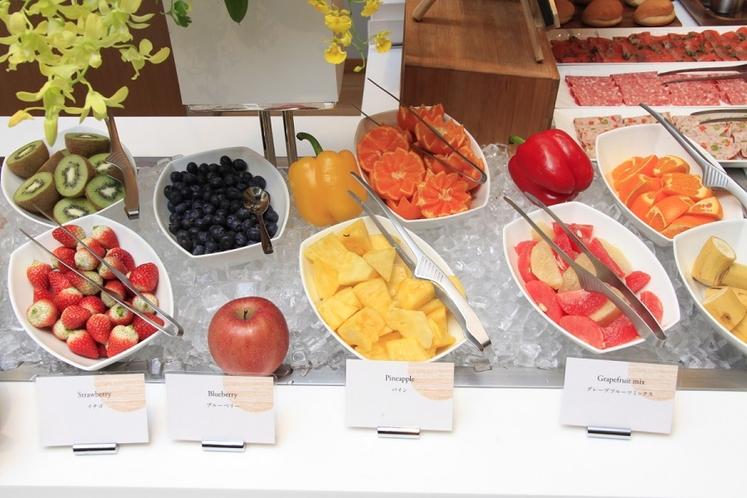 【朝食ビュッフェ】フルーツコーナー