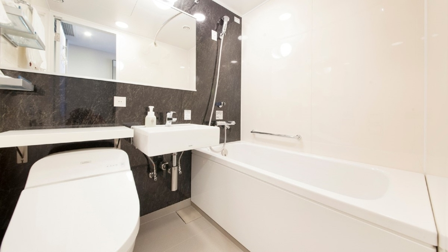 バスルーム:ユニット形式