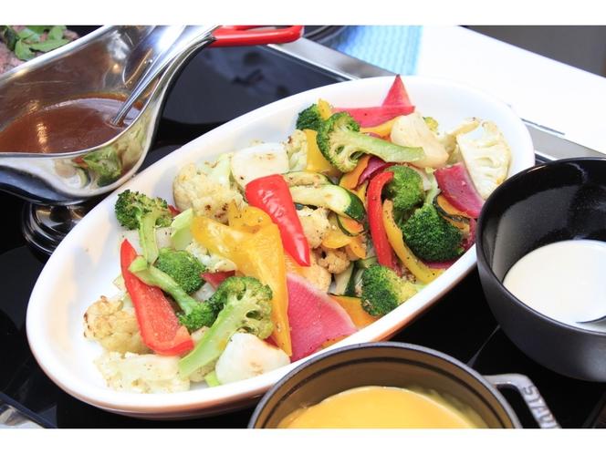 【朝食ビュフェ】温野菜
