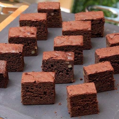【朝食】チョコレートブラウニー