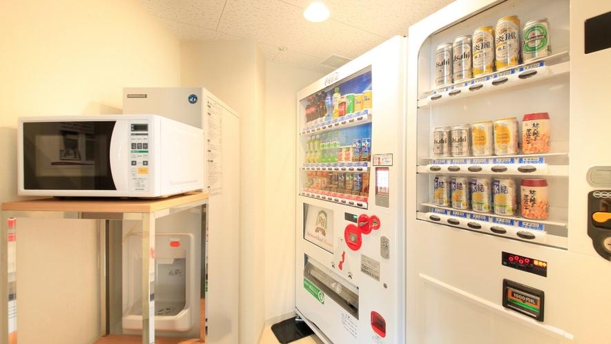 自動販売機スペース