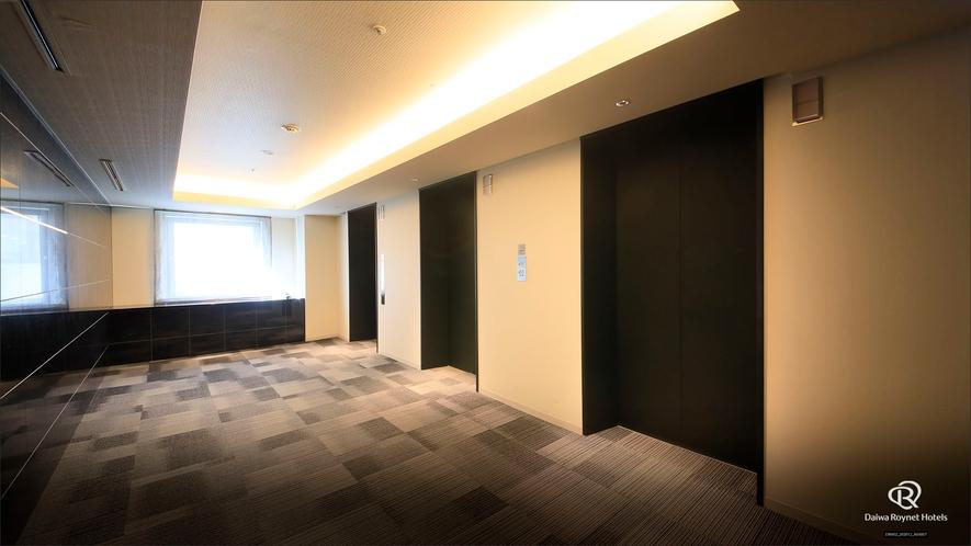 ◆客室フロア(エレベーターホール)